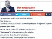 Sabah yazarından skandal CHP yazısı