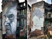 Fatih Belediyesi o portreyi yok etti!