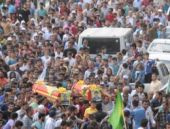 YPG'lilere Hakkari'de dev cenaze töreni!