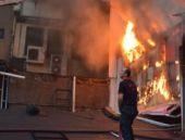 AVM'de yangın 1 ölü 8 yaralı