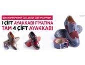 Müthiş ayakkabı kampanyası!