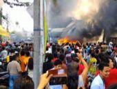 Endonezya'da son dakika korkunç uçak kazası!