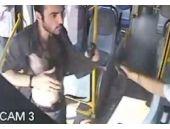 Polis halk otobüsünde dehşet saçtı!