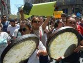 'Yeşil Yol Projesi'ne Hayır' protestosu