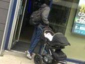 Üç aylık bebeği satmaya çalışan adam gözaltında