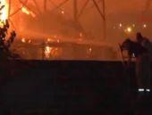 İzmir'de kağıt fabrikasında yangın