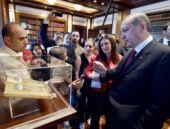 Erdoğan huzur buluyorum dediği odayı basına gösterdi