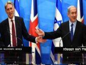 İngiliz Bakan ve Netanyahu basın önünde tartıştı!