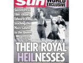 'Kraliçe'nin Nazi selamı' yayınına Saray'dan tepki