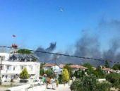 Avşa Adası'nda şiddetli yangın