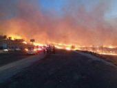 Diyarbakır'da büyük yangın! Acil alarm verildi!