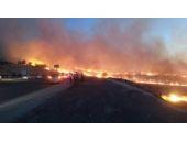 Diyarbakır'da büyük yangın! Güçlükle söndürüldü!
