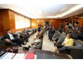 ABD Adana Konsolosu Espinoza'dan Başkan Şahin'e veda ziyareti