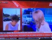 Spiker şok oldu muhabir canlı yayında...