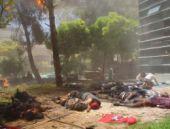 Suruç saldırısının dehşet video görüntüsü
