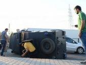 Diyarbakır'da zırhlı araç devrildi! 6 yaralı!