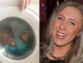Oğlunu çamaşır makinesine koydu!