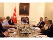 Davutuğlu başkanlığındaki Özel Güvenlik Toplantısı'ından görüntüler