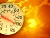 İzmir hava durumu termometre kızardı