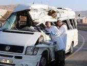 Sivas'ta korkunç trafik kazası