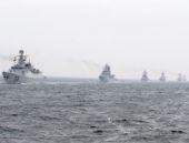 100'den fazla Çin savaş gemisi onlarca uçak...