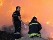 Yangını yağmur bile söndüremedi! FLAŞ
