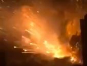 Hakkari'de 2 ton bomba yüklü araç patlatıldı