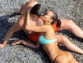 Irina Shayk'ın yeni sevgilisiyle 'sıcak' pozları!