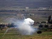 'İsrail Golan Tepeleri'nde Suriye ordusunun mevzilerini vurdu'