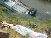 Kazada öldü cesedi tesadüfen bulundu