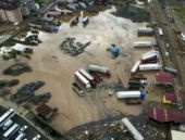 Hopa'da sel ve heyelan felaketi: Korku filmi gibi
