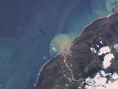 Artvin'deki felaketinşok uydu görüntüsü