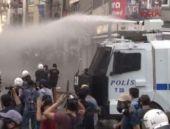 Taksim'de Cizre protestosuna müdahale!