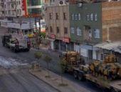 Diyarbakır sokaklarında tanklar!