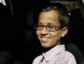 Yaptığı saat bomba sanılan Muhammed okuldan ayrıldı