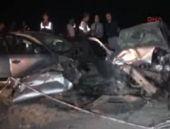 Aksaray'da feci kaza! İçinde askerler vardı