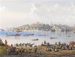 Carlo Bossoli'nin  ''Üsküdar'dan İstanbul Manzarası'' isimli tablosu Londra'daki ''Usta Sanatçılar ve 19. Yüzyıl Resimleri'' müzayedesinde
