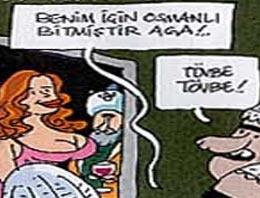 Habertürk çizeri Mehmet Çağçağ'ın bugünkü karikatürü Muhteşem Yüzyıl'a ayrıldı..