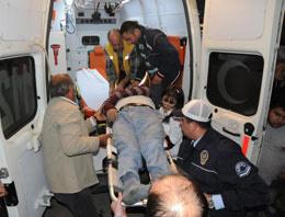 Giresun'da trafik kazası meydana geldi