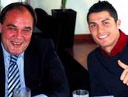 Yıldırım Demirören ile Real Madrid'in yıldız futbolcusu Cristiano Ronaldo anlaşmaya vardı.