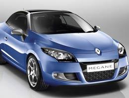 Renault'un en çok tutulan modelleri arasında çıkan Megane'ın Cabrio serisi  yakında piyasaya çıkacak