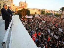 CHP'nin yarın İstanbul Kazlıçeşme'de düzenleyeceği miting için hazırlıklar tamamlandı