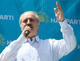 HAS Parti Genel Başkanı Numan Kurtulmuş, Başbakan Recep Tayyip Erdoğan'a destek verdi