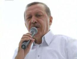 Başbakan Recep Tayyip Erdoğan, İstanbul Ataşehir'de seçmenlerine seslendi