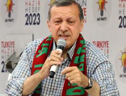 Başbakan Recep Tayyip Erdoğan, beklenen Diyarbakır mitinginde seçmenlerine seslendi.