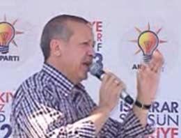 Başbakan Recep Tayyip Erdoğan, Sivas mitinginde konuşuyor
