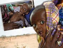 Milyonlarca insan Afrika'da açlık ve susuzluk nedeniyle ölümün pençesinde. Peki bu insanları kurtaracak para miktarı ne kadar?