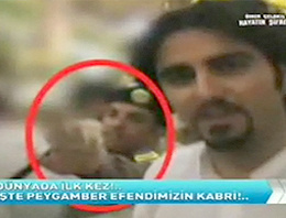 TNT'de program yapan Ömer Çelakıl, programında görüntü almanın yasak olduğu Mescid-i Nebevi'nin içinden görüntüler yayınladı