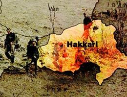 Hakkari'nin Şemdinli ilçesi Ortaklar jandarma karakolu yakınında askeri konvoyun geçişi sırasında mayın patladı