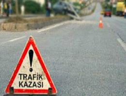 Ankara'da y�rek yakan kaza!